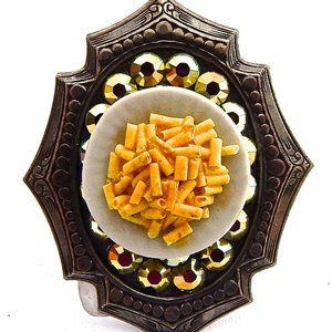 MAC N CHEESE SWAROVSKI RHINESTONE RING